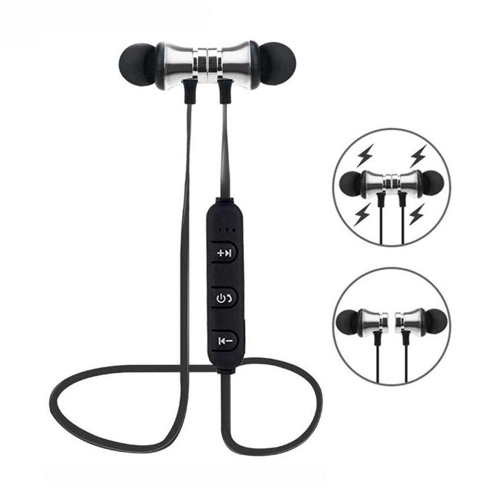 XT21 Magnetic Adsorption Wireless Bluetooth In-Ear Earphone Sports Headphone Earphones For Iphone Xiaomi Huawei
