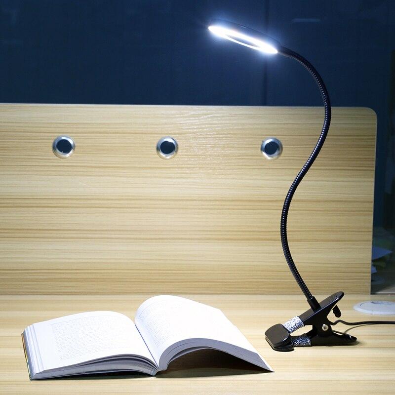 Приглушаемый светодиодный светильник для чтения прикроватная