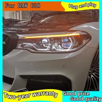 Faro delantero para BMW G38 faros 2018-2019 520i 523i LED faro lámpara de señal Hid Bi Xenon accesorios de automóvil