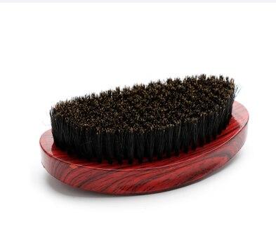 Escova de barba masculina logs curvo lidar