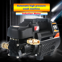 1800W Car Wash High Pressure Water Pump Portable Washing Machine Foam Generator Wash Gun Clean Maintenance Supplies Accessories
