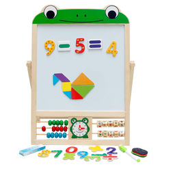 Solid Wood Double-Sided Magnetic CHILDREN'S Drawing Board Easel Writing Board Blackboard Baby Painted Gift Stall Wholesale