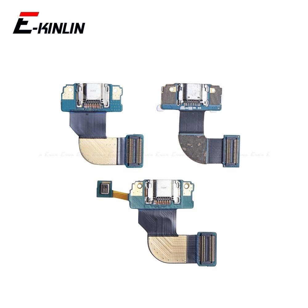 Charging Plug Port Connector Board Parts Flex Cable For Samsung Galaxy Tab 2 3 4 Pro A P5100 P5200 T530 T310 T311 T320 T325 P550