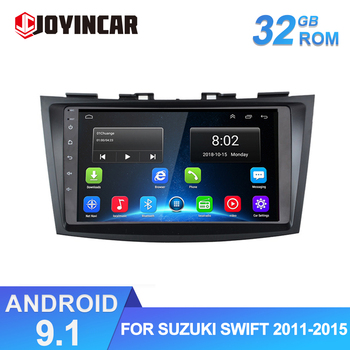 2 din 9 Android 9.1 Car Radio GPS Navigation WiFi for Suzuki Swift 2011-2015 Car Multimedia Video Player Autoradio Stereo Head image