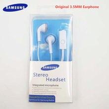 Samsung original no fone de ouvido ehs61 3.5mm com fio fones de ouvido música in-line controle + microfone para s6 s7 s8 s9 s10 plus a10 a20 a30 a40