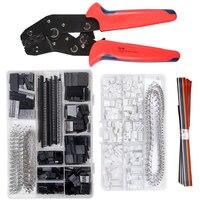 SN-28B Crimpen zangen werkzeug set-1550 stücke 2,54mm Dupont anschlüsse und crimp pins,460 stücke 2,54mm JST-XH JST connector kit