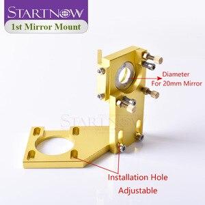 Image 4 - Startnow CO2 Laser Bộ Căn Cứ Thành Phần Đầu Laser Bộ Ống Kính Tráng Gương Đèn Gắn Cho CNC 2030 Khắc Máy Dự Phòng một Phần