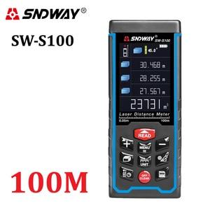 Image 1 - SNDWAY เลเซอร์ Rangefinder สี Rechargeabel 100M 70M 50M เลเซอร์ Range Finder จัดส่งฟรี