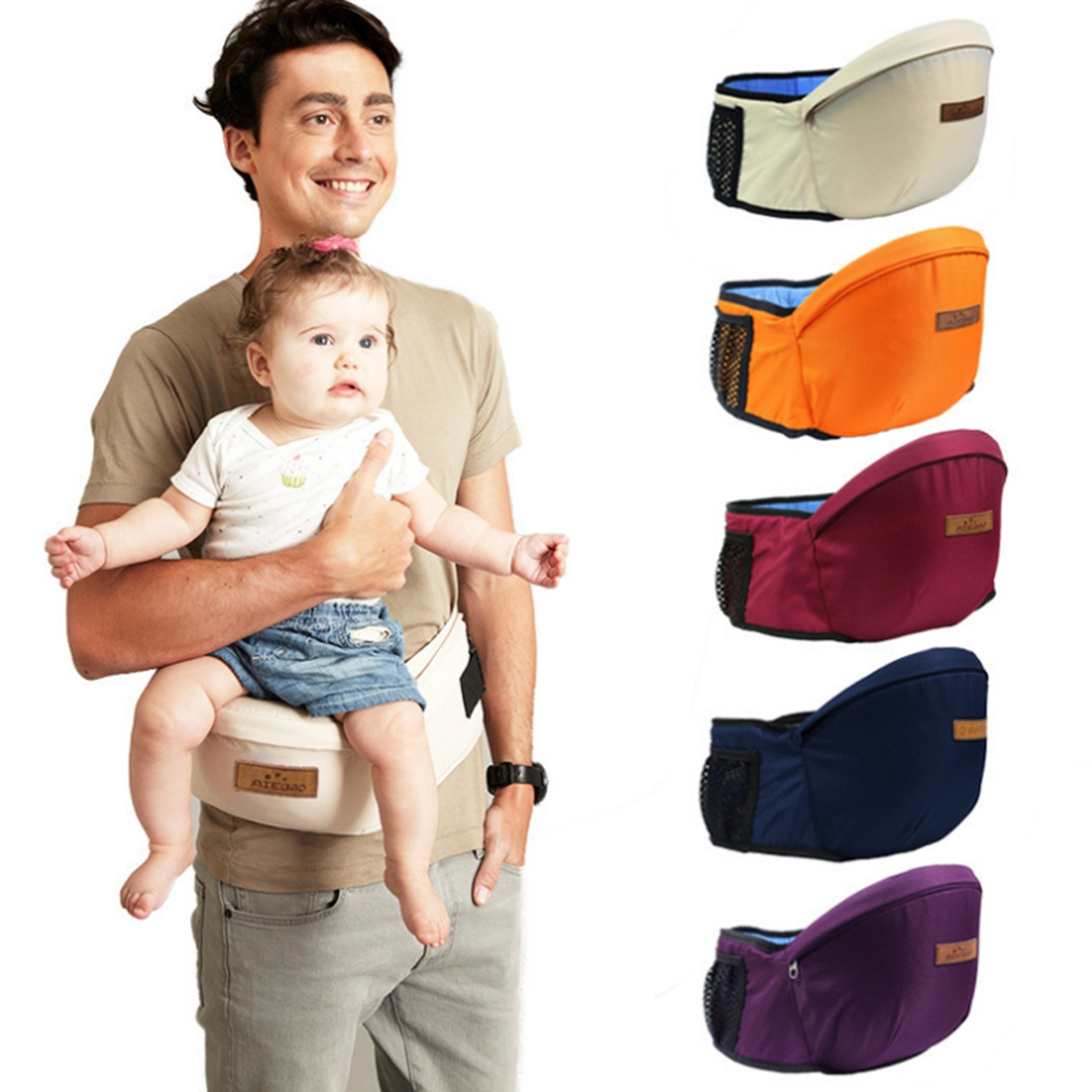CYSINCOS Baby Carrier Cotton Holder Waist Stool Baby Sling Bebe Hip Carrier Kids Hip Seat Baby Walkers Bag Front Holder Wrap