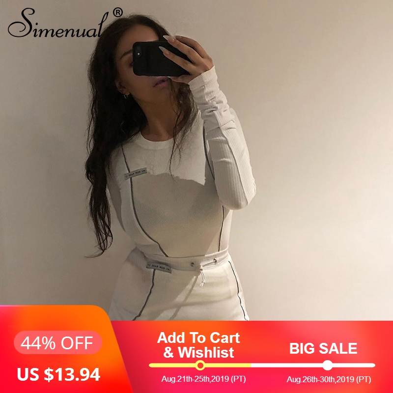 simenual-casual-fashion-reflective-striped-two-piece-outfits-women-long-sleeve-top-and-mini-skirt-sets-2019-autumn-white-set-new
