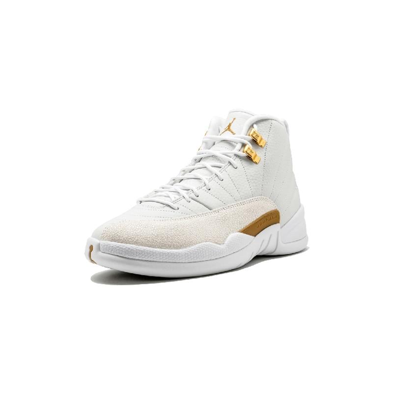 Original Authentic Nike Air Jordan 12 Retro OVO Men's Basketball Shoes Comfortable Classic Athletic Designer Footwear 873864-03 25