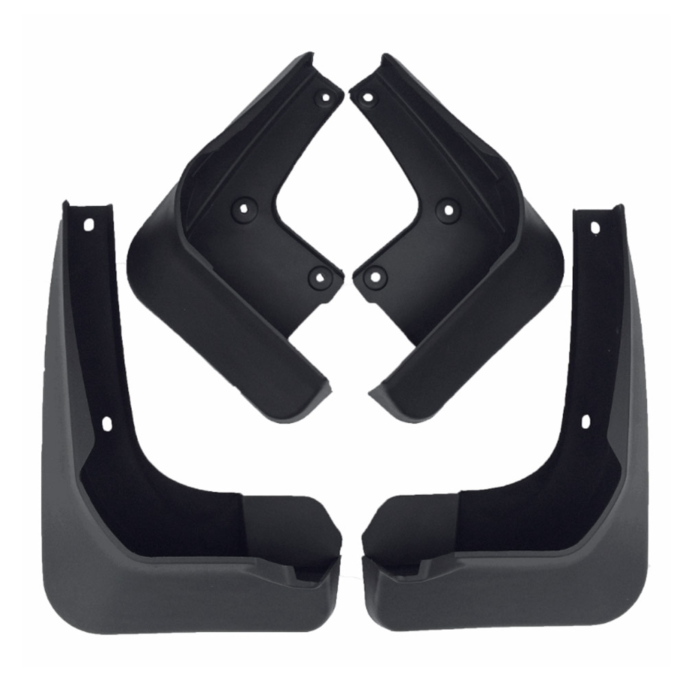 Front Rear Molded Car Mud Flaps For <font><b>VW</b></font> Passat Magotan Touran Bora Polo <font><b>Mudflaps</b></font> Splash Guards Mud Flap Mudguards Fender image
