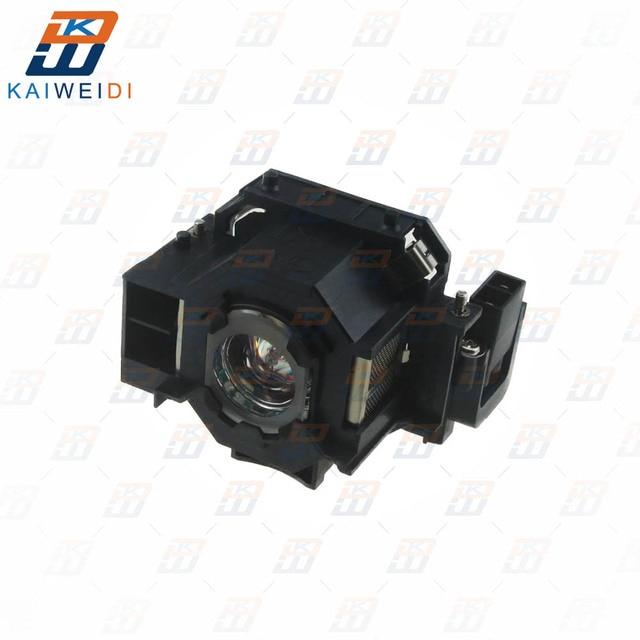 Compatible pour ELPLP41 EMP S5 EMP S52 EMP T5 EMP X5 EMP X52 EMP S6 EMP X6 EMP 260 EB S6 lampe De Projecteur V13H010L41 pour Epson