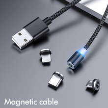 Magnetic Charger Cable Fast Charging Micro USB Type C Cable For Samsung Xiaomi Huawei Mobile Phone Magnet Wire For Iphone 11 bayserry magnetic charger micro usb type c cable for iphone 11 xr magnet cable fast charging wire for samsung s20 xiaomi huawei