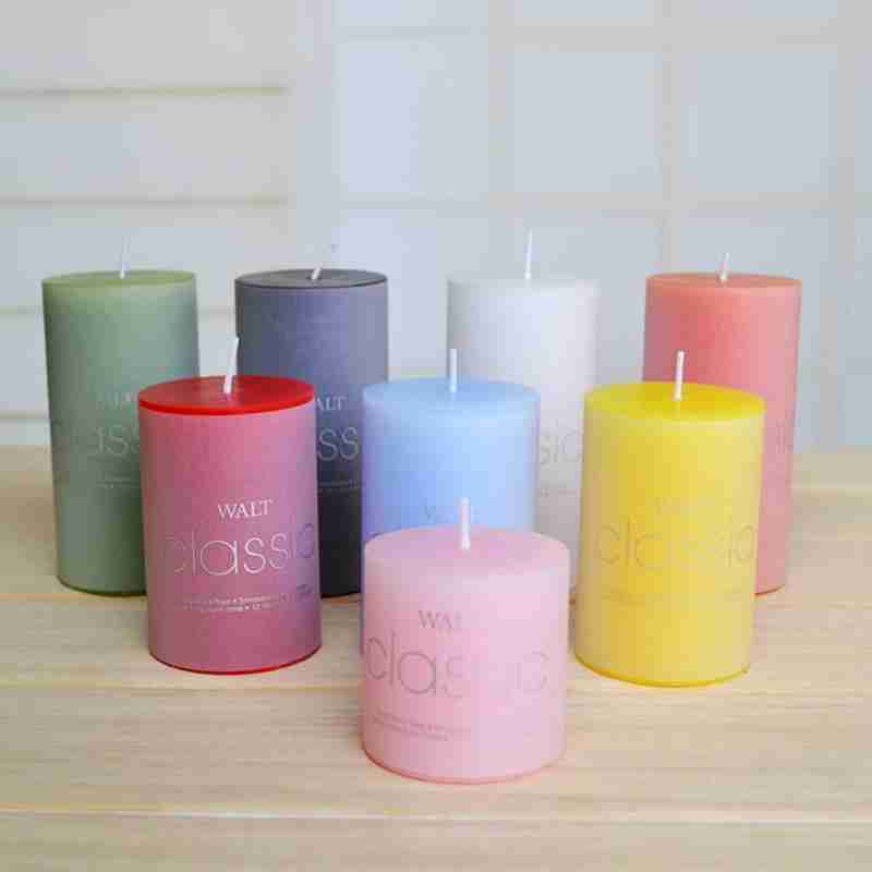 Cylindrical Candle 5*10cm Craft Scented Candle, Round Column Wax, Smokeless Scented Candle Factory Wholesale