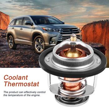 Termostat płynu chłodzącego silnika dla Toyota Corolla 1984-1996 90916-03046 obudowa termostatu tanie i dobre opinie