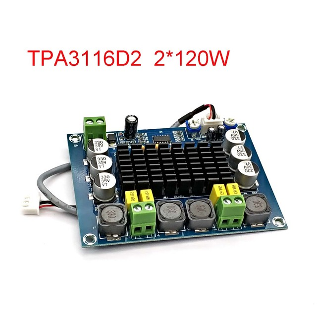 NEUE TPA3116 Dual kanal Stereo High Power Digital Audio Power Verstärker Bord TPA3116D2 Verstärker 2*120W Amplificador DIY