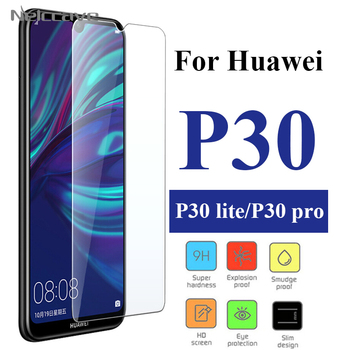 100Pcs 2.5D 9H Tempered Glass For Huawei P40 Lite E P30 P20 Pro P20 Lite 2019 P10 Plus P9 Lite Screen Protector Protective Film