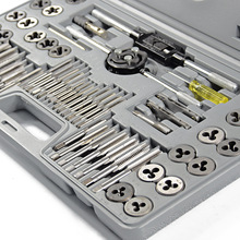 60pcs/lot Tap and Die Sets Metric Die for Metal Working Hand Tools Aggregate  Screw Tap Thread