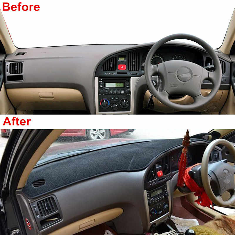 car dashboard cover dash mat pad sun shade instrument carpet accessories for hyundai elantra 2000 2001 2002 2003 2004 2005 2006 interior mouldings aliexpress aliexpress