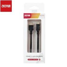 Zhiyun كابل نقل الصور الصغير إلى Micro/Mini/HDMI ، جهاز إرسال الصور إلى Weebill S Crane 3 ، معمل محمول باليد