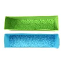 Прямоугольная силиконовая форма для мыла тисненая Роза Маргаритка цветок украшение ручной работы буф форма для изготовления мыла