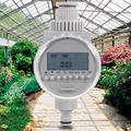 Таймер полива сада, Таймер подачи воды на солнечной батарее, автоматический контроллер полива, система полива сада, таймер полива с ЖК-диспл...
