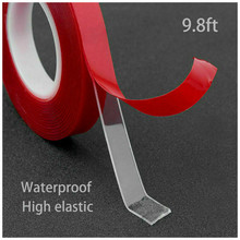Acrylic Clear Transparent Double Sided Tape Strong Adhesive Sticker 300CM Parts  Material