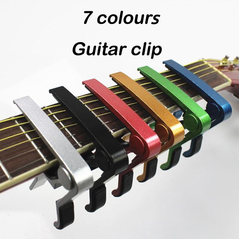 Guitar Capo Acoustic Guitar Transposition Clip Ukulele Transpose Clips Voice Clips Guitar Accessories 1