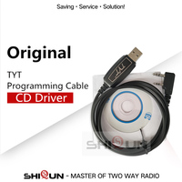 TYT USB Cavo di Programmazione + CD Per TYT Walkie Talkie Palmare DM UVF10 TH UV8000D TC 8000 TH UV8000E TH UV9D TH F8-in Walkie-talkie da Cellulari e telecomunicazioni su