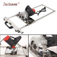 Tabla de corte de posicionamiento para sierra eléctrica, guía de bordes de 4 pulgadas y 10cm, máquina cortadora Circular, herramienta para carpinteríaJuegos de herramientas manuales