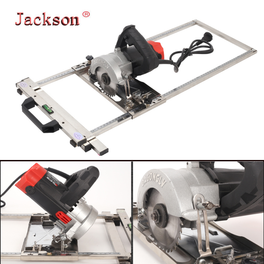 New Multi-function Edge Guide Positioning Cutting Board For Electricity Circular Saw Trimmer Machine Woodworking Tool Marble