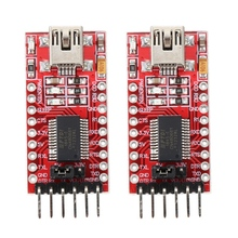 FT232RL FTDI USB 3,3 V 5V к ttl Последовательный модуль адаптера для Arduino Mini port