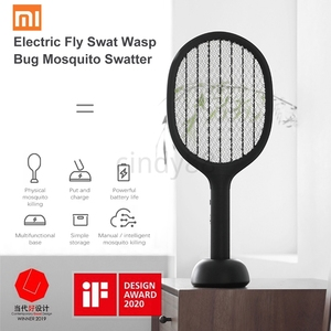 Image 1 - XIAOMI SOLOVE P1 אנכי יתושים רוצח USB נטענת כף יד חשמלי יתושים רוצח סופר ארוך סוללה טוס מחבט בית