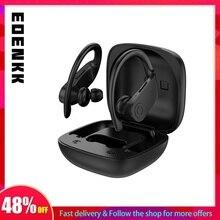 Wahre Drahtlose Ohrhörer Bluetooth 5,0 TWS Stereo Kopfhörer in Ohr Gebaut in Mic Headset 24 Stunden Insgesamt Wiedergabe