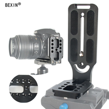 BEXIN штатив dslr камера arca swiss быстросъемная l-образная пластина l-образный кронштейн держатель рукоятка с винтом 1/4 для canon nikon sony