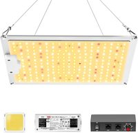 Full spectrum Samsung led grow light 1000W Dimmable quantum grow light 234Pcs LEDs with UL Meanwell driver