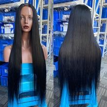 Prosto U część ludzkich włosów peruki naturalne czarne brazylijskie dziewicze włosy Upart klip w peruki ludzkie włosy dla kobiety u-part peruka Dolago
