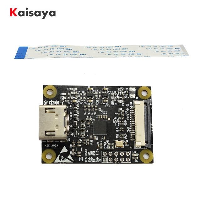 For Raspberry Pi 4B 3B 3B+ HDMI to CSI 2 Adapter Board TC358743XBG HDMI input up to 1080p25fp G4 006