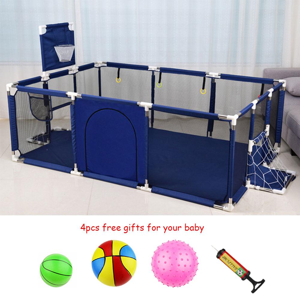 Детский манеж для манежа для детей Детский манеж для шариковой ямы детская игровая площадка баскетбольная площадка Крытый футбол поле