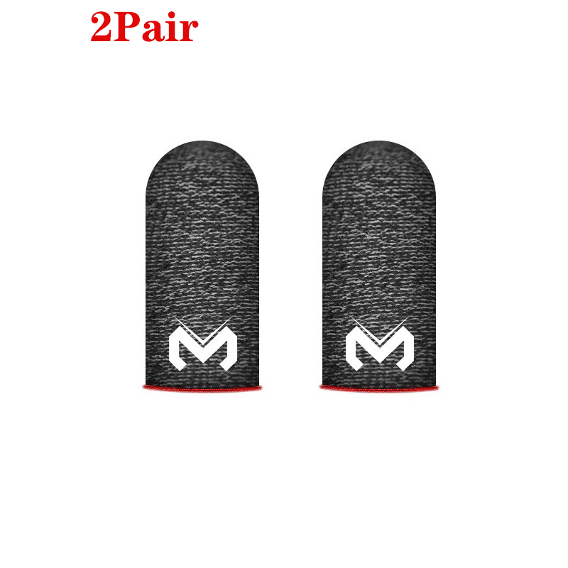 2Pair Gaming Finger Sleeve Breathable Fingertips For PUBG Mobile Games Touch Screen Finger Cots Cover Sensitive Mobile Touch