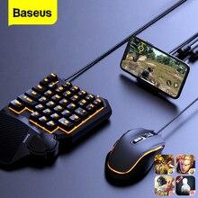 Baseus di Gioco USB Bluetooth Adattatore per PUBG USB Wireless Gaming Mouse Mouse Tastiera Per il iPhone Android Phone PS5 PS4 Xbox interruttore
