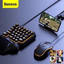Baseus juego USB adaptador Bluetooth para PUBG inalámbrico USB ratón para iPhone Android teléfono PS5 PS4 Xbox Switch