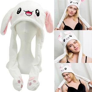 Toys Plush Girls Rabbit Airbag-Cap Female-Accessories Gifts Mobile Pinching Children's