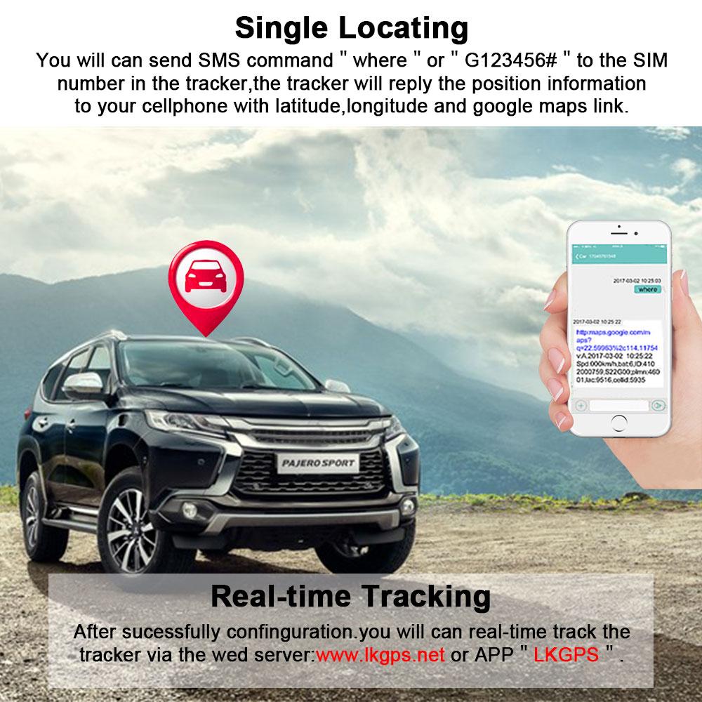4G Vehicel GPS Tracker LK960 Cut off Enginer remotely (10)