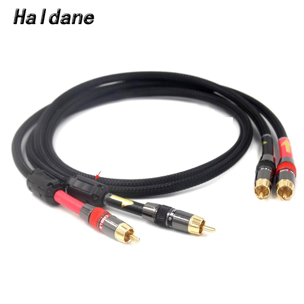 HIFI Stereo Pair RCA Cable High-performance Premium Audio 2rca to 2rca cable