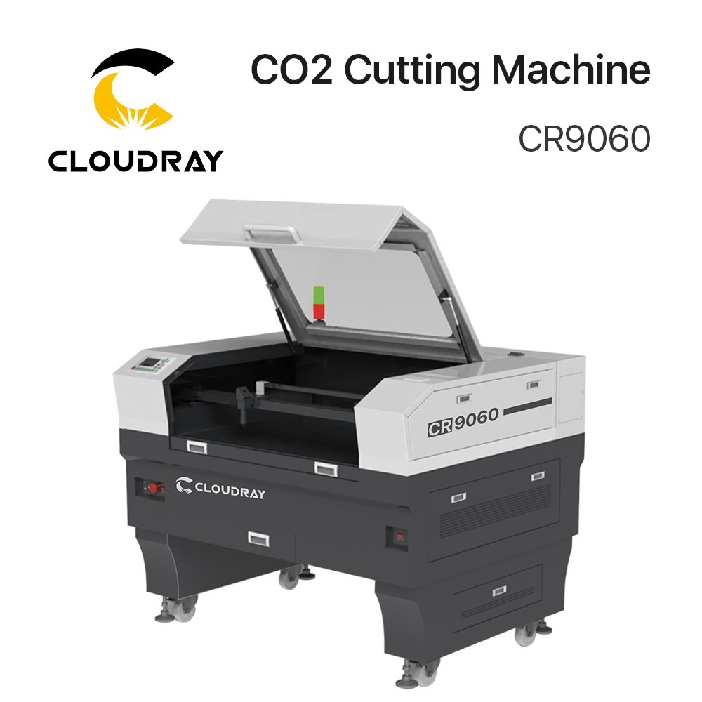 Cloudray CR9060 Reci W2 90-100W CO2 Cutting Machine With S&A Chiller 3000AG/ 5000AG
