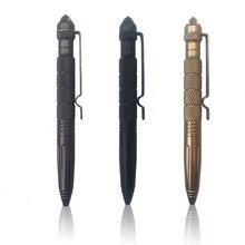 Высококачественная тактическая ручка для самообороны, многофункциональная противоскользящая портативная ручка из авиационного алюминия