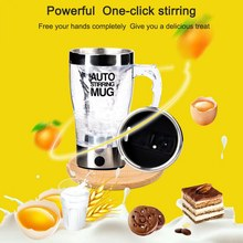 Blender automatic Stirring Cup Electric Kitchen Mixer Juicer Fruit Cup coffee 350ML stainless steel Small blender coffee cup lid multifunction portable blender electric kitchen hand blender stainless steel professional automatic juicer blender food mixer