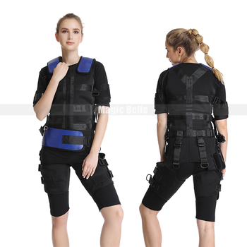 High Quality! EMS Apparel Body Slimming Abdominal Muscle Fitness Equipment Wireless EMS Suit EMS Training Machine Suit фото